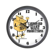 Cardboard Giant Productions Wall Clock