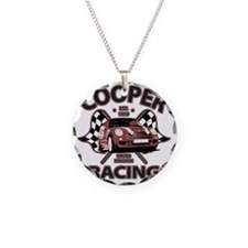 Cooper Racing funk copy Necklace Circle Charm