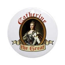 catherine-the-great_tr Round Ornament