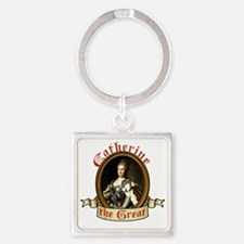 catherine-the-great_tr Square Keychain
