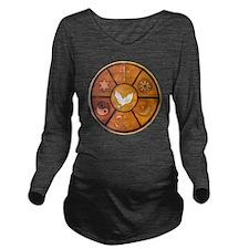 interfaith-1 Long Sleeve Maternity T-Shirt