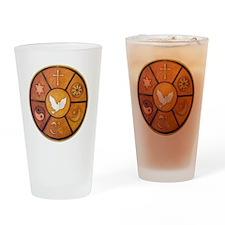 interfaith-1 Drinking Glass
