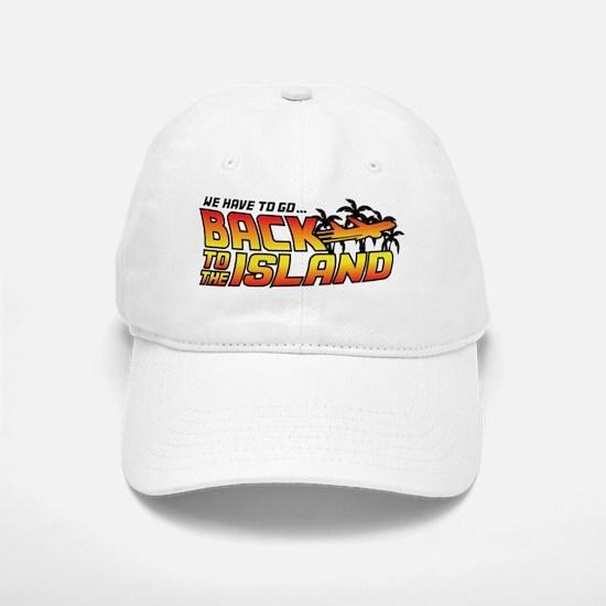 Lost Back To The Island Baseball Baseball Cap
