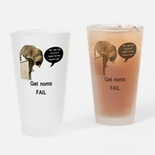NomFail Drinking Glass