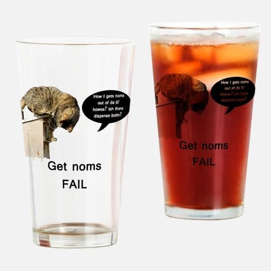 NomFail Drinking Glass