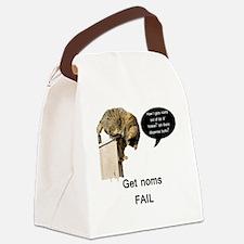 NomFail Canvas Lunch Bag