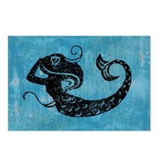 mermaid-worn_13-5x18 Postcards (Package of 8)