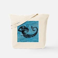 mermaid-worn_13-5x18 Tote Bag
