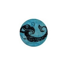 mermaid-worn_13-5x18 Mini Button
