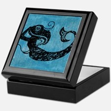 mermaid-worn_13-5x18 Keepsake Box