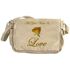 t-allyouneedis_love_yellow_rose-3 Messenger Bag