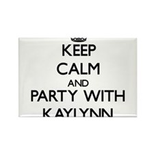 Keep Calm and Party with Kaylynn Magnets
