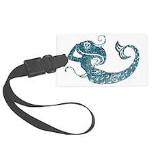 mermaid-worn_tr Luggage Tag