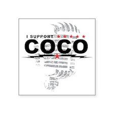 """coco Square Sticker 3"""" x 3"""""""