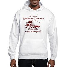 Proud American Trucker Hoodie