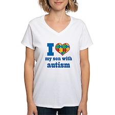 Autism - I Love My Son Shirt