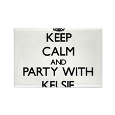 Keep Calm and Party with Kelsie Magnets