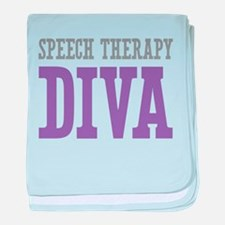 Speech Therapy DIVA baby blanket