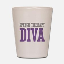 Speech Therapy DIVA Shot Glass