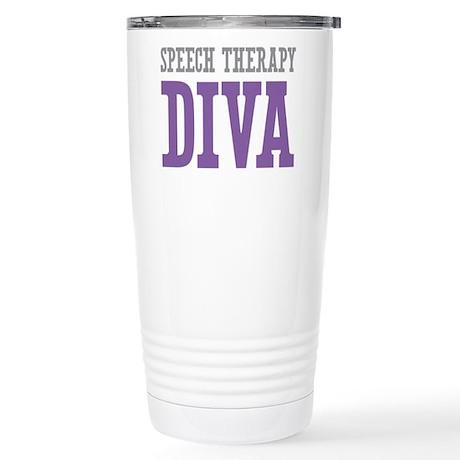 Speech Therapy DIVA Stainless Steel Travel Mug