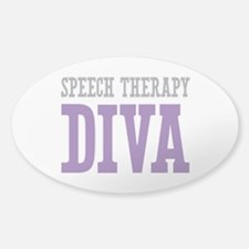 Speech Therapy DIVA Decal