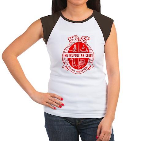 Copy of MOCNA logo.gif Women's Cap Sleeve T-Shirt