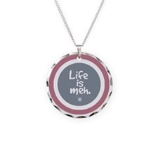 lifeismehSHIRT4 Necklace Circle Charm