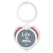lifeismehSHIRT4 Heart Keychain