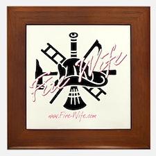firewife.logo 2000 Framed Tile