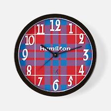 Hamilton Clan Wall Clock