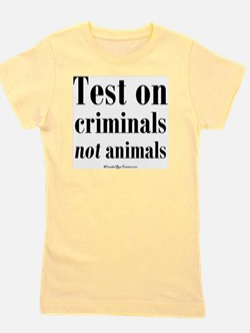 testcriminals_sq Girl's Tee