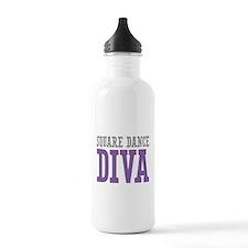 Square Dance DIVA Water Bottle