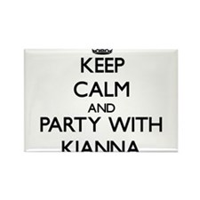 Keep Calm and Party with Kianna Magnets