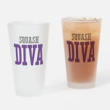 Squash DIVA Drinking Glass