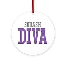 Squash DIVA Ornament (Round)
