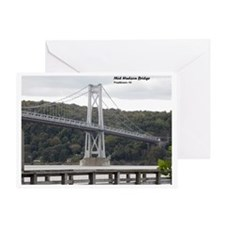 Mid Hudson Bridge, Poughkeepsie, NY Greeting Card