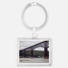 Walkway Over the Hudson Landscape Keychain