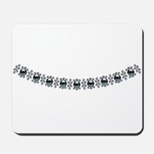 Strong Black Pearl Necklace Mousepad
