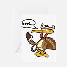 Thanksgiving Turkey Greeting Cards