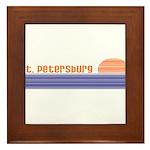 St. Petersburg, Florida Framed Tile