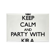 Keep Calm and Party with Kira Magnets