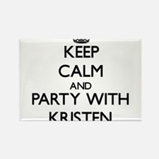 Keep Calm and Party with Kristen Magnets