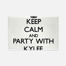 Keep Calm and Party with Kylee Magnets