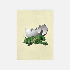 Little Dragon 5'x7'Area Rug