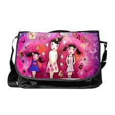 Fun and happy Messenger Bag