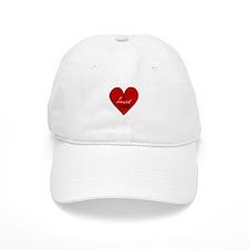 i heart you (heart) Baseball Cap