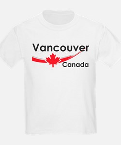 Vancouver Canada Kids T-Shirt
