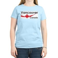 Vancouver Canada Women's Pink T-Shirt
