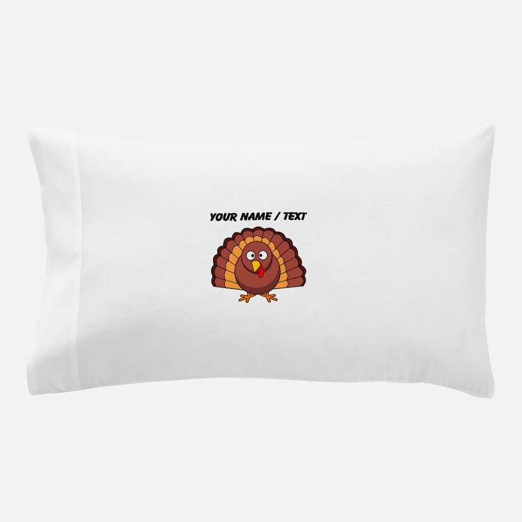 Custom Cartoon Turkey Pillow Case