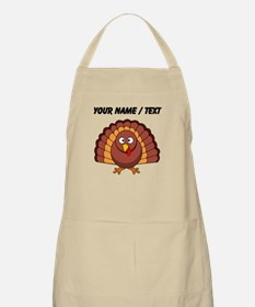 Custom Cartoon Turkey Apron